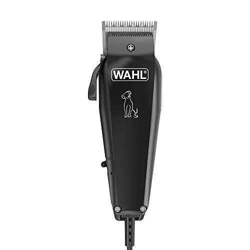 WAHL Dog Clippers, Multi Cut Dog Cat Grooming Kit, Full Pet Coat, Low Noise Corded, Pets At Home, Rust Resistant, High Carbon Steel Blades are Precision Ground, Light 100 gr